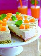 Svěží piškotový dort