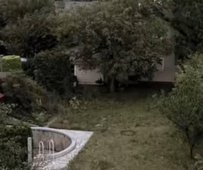 Podle svých slov skákala přes ploty ostatních domů, dokud neviděla otevřené okno. Požádala tedy majitelku, aby zavolala policii.