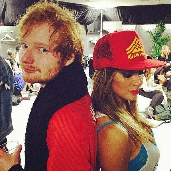 První společná fotka Nicole a Eda Sheerana.