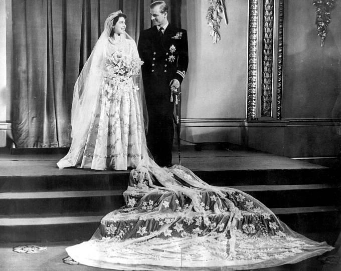 Princ Filip a královna Alžběta II.