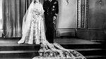 Se svou budoucí manželkou se setkal během návštěvy u námořní akademie.