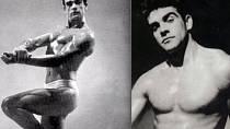 1953 - Sean Connery na soutěži kulturistů.