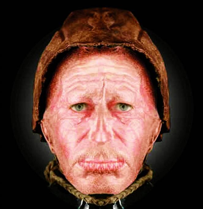 Rekonstrukce obličeje Tollundského muže