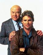 Ústřední dvojice seriálu MacGyver