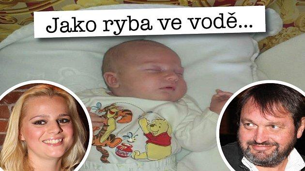 Ornella Štiková, Josef Kokta a jejich malý Quentin