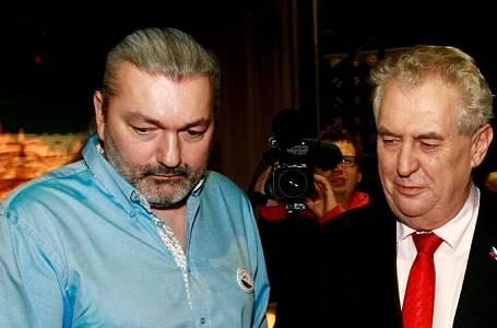 Miloš Zeman Daniel Hůlka