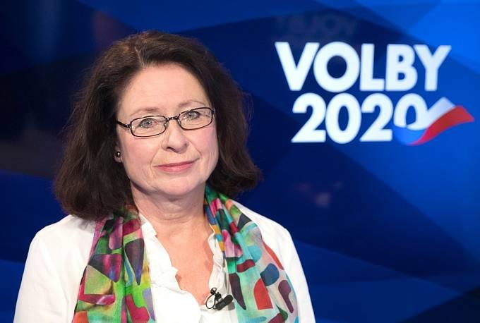 Miroslava Němcová je druhá kandidující žena.