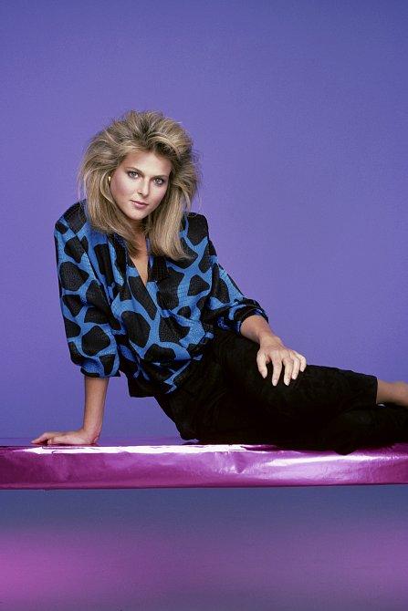Vroce 1984 zářila vDynastii jako Amanda Carringtonová.
