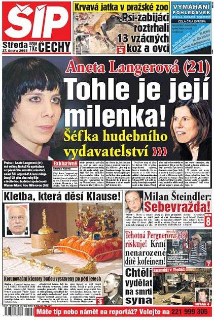Titulka 27. 2. 2008