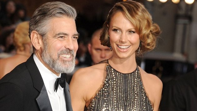 George Clooney se Stacy Keibler