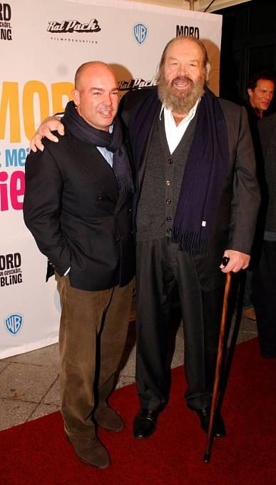 Syn Giuseppe sotcem, který vroce 2007 zahajoval natáčení svého předposledního filmu Zabíjení je má práce, lásko.