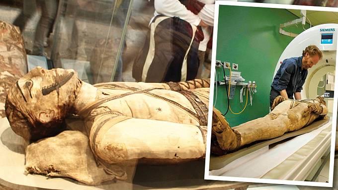 Vědci dnes zkoumají mumie zapomoci nejmodernějších metod. NaIrtyersenu jsou ale krátké.