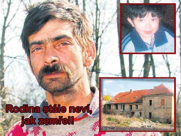 Kristiánův dědeček přijel až ze Slovenska. Teď chystá jeho pohřeb a čeká na výsledek vyšetřování. Bývalý polorozpadlý cukrovar (vpravo dole) obývá asi padesát Romů. Rodina Červeňákových žije v přízemí.