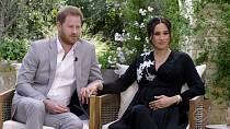 Ze svého amerického domova poskytli moderátorce Oprah Winfrey šokující interview o královské rodině.