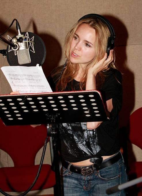 Milovaného zpěvu by se Lucie prý nikdy nevzdala.
