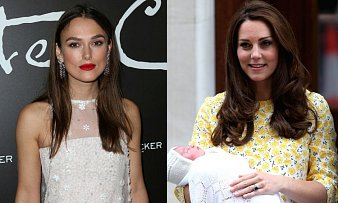 Kate Middleton Keira Knightley