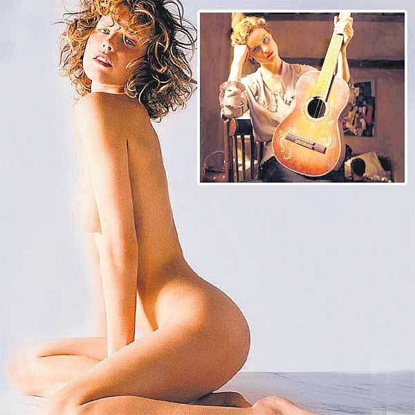 Litvínovská rodačka Eva Herzigová si nedopřeje odpočinku. Herzigová v roli Olgy (ve výřezu), Picassovy ženy ve filmu Modigliani.