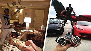 Průměrný Čech může nad luxusem mladých boháčů jen valit bulvy.