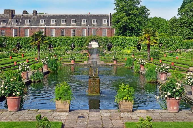 Zahrady Kensingtonského paláce