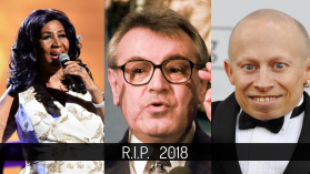 Celebrity, které nás v roce 2018 opustili