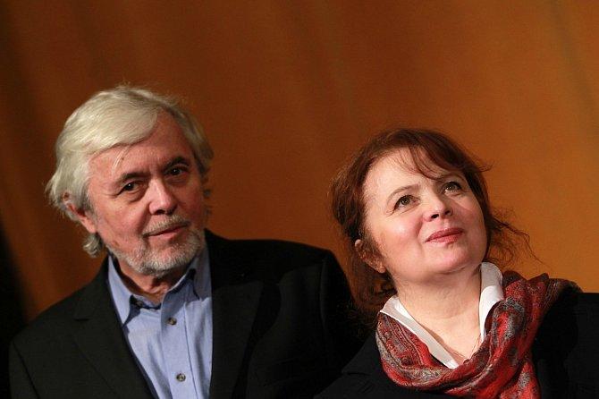 Libuše Šafránková a Josef Abrhám patřili k nejvíce stabilním párům českého showbyznysu.