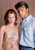 Při natáčení Melrose Place randil skolegyní Laurou Leightonovou.