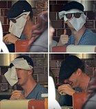 Seriálový Sherlock má za ušima a ví jak se maskovat.