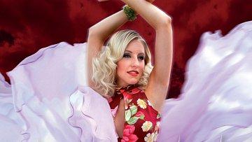 Provokativní slovenská kráska Mista dělá i do módy, zde pózuje v modelech Osmanyho Laffity.