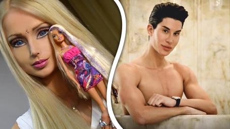 Živá Barbie a Ken