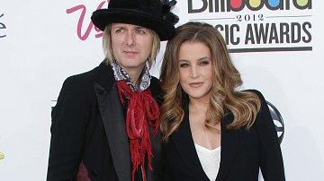 Lisa Marie Presleyová a Michael Lockwood