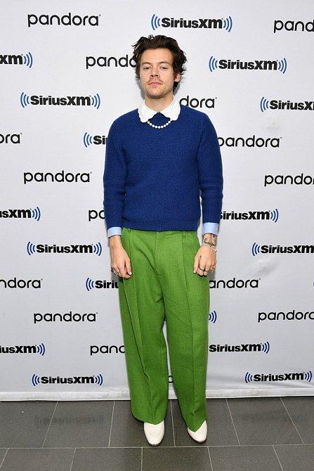 Harry Styles se stal módní ikonou.