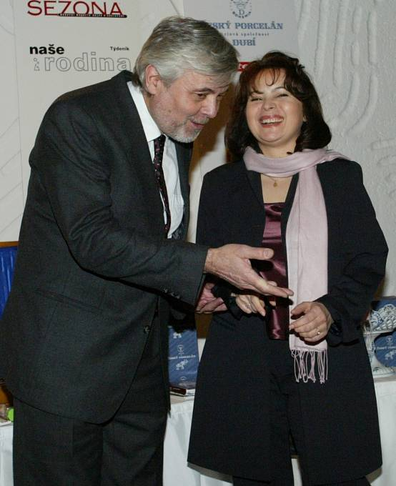 Libuška Šafránková Josef Abrhám