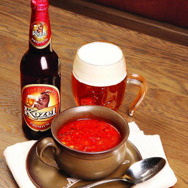 Kozlíkova chilli polévka
