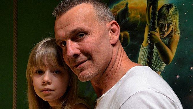 Martin Maxa s dcerou Emičkou