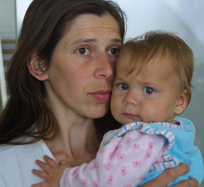 Blanka Fuxová a její dcera Půlnoční bouře.