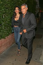 George Clooney a jeho manželka Amal