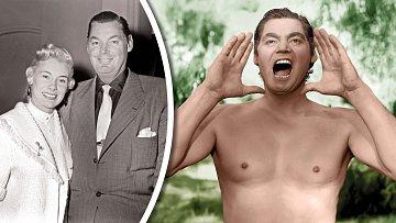 Slavný Tarzan prošel mnoha manželstvími. Nevydržel ani vztah sAllene Gatesovou.