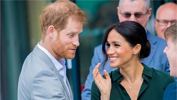 princ Harry, vévodkyně Meghan