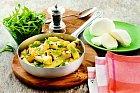 Zelené abílé těstoviny