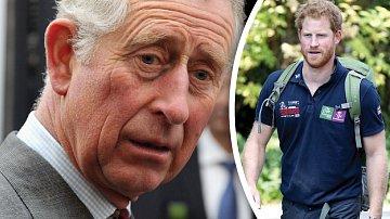 Princ Charles umí být na syna přísný.