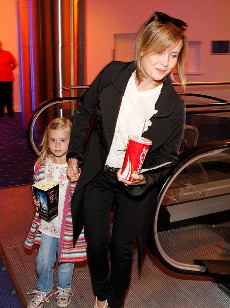Herečka se ještě nedávno snažila dcerku chránit před veřejným životem.