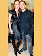 Petr Bende a přítelkyně