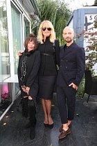 Simona se na tiskové konferenci k Ostrava Fashion Week potkala se svými kamarády z branže.