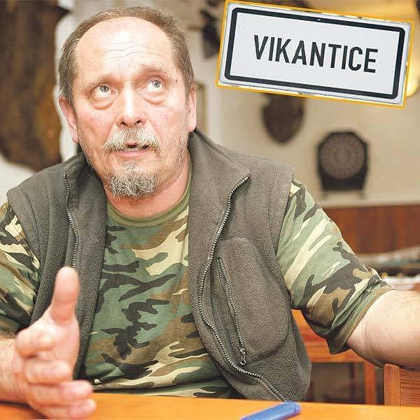 Jsme chudý kraj, ale peníze nejsou to hlavní, říká starosta Vikantic Miroslav Kročil.