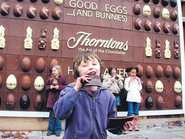 Čokoládový plakát
