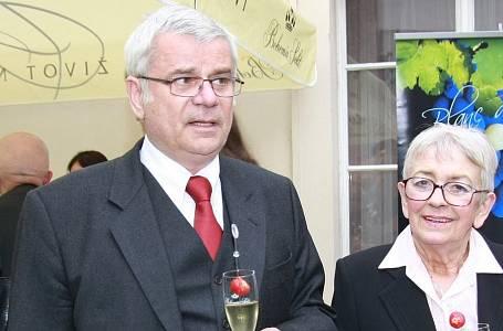 Petr Štěpánek s manželkou