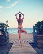 Andrea miluje jógu a pilates.