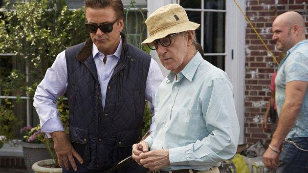 Woody Allen (vepředu)