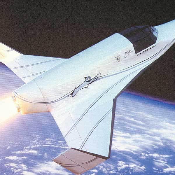 Dvoumístný vesmírný tryskáč Lynx bude vozit turisty v roce 2010.
