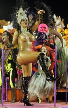 Nahota ke karnevalu v Rio de Janeiru patří.